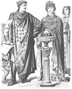 Byzantine Image Review  #Byzantine #garb #SCA