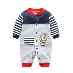 New Arrival Newborn Baby Boy Clothes Long Sleeve Baby Boys Girl Romper Cotton Infant Baby Rompers Jumpsuits Baby Clothing Set Baby Outfits Newborn, Baby Boy Newborn, Toddler Outfits, Baby Boy Outfits, Kids Outfits, Boys And Girls Clothes, Cute Baby Clothes, Baby Kostüm, Baby Boys