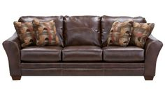 Slumberland Furniture - Brockport Collection - Brown Sofa - Slumberland Furniture Stores and Mattress Stores