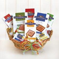 California Delicious - Luxe Ghirardelli Chocolate Gift Basket. $49
