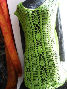 women   dress tunic asparagus FREE SHIPPING