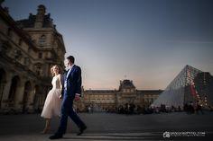 Luwr - Paryż - Francja  plenerowa sesja ślubna www.grzegorzpytel.com