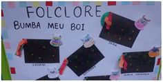 FOLCLORE E ARTE EDUCAÇÃO INFANTIL