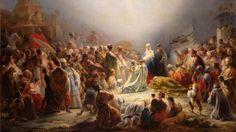 """""""A Adoração dos Magos"""" do pintor português Domingos António Sequeira (1768-1837)"""