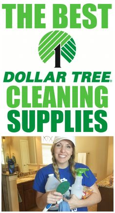 What you should buy at the dollar tree for cleaning!