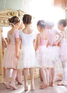 Pastel ballet sweeties.  Photography: Anson Smart; Styling:  Steve Pearce & Lucy Weight for the Donna Hay Kids magazine ~ via Dustjacket Attic...