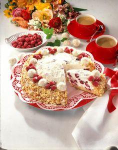 Unser beliebtes Rezept für Raffaello-Himbeer-Torte  und mehr als 55.000 weitere kostenlose Rezepte auf LECKER.de.