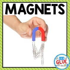 Engage your class in an exciting hands-on experience learning all about magnets! This hands-on magnet study is perfect for science in Preschool, Pre-K, Kindergarten, First Grade, and Second Grade classrooms and packed full of inviting science activities.