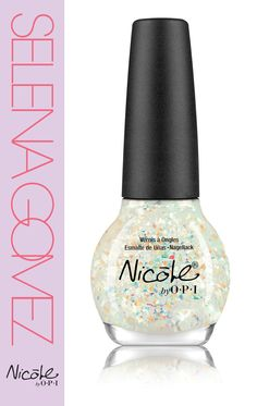 Heavenly Angel from Nicole by OPI's Selena Gomez collection. Soooo sparkly!!!:)