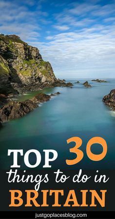 Top 30 things to do in Britain: from hiking in the Lake District and eating fish and chips in Padstow to having Cornish pasty in Cornwall, here it's a list of the top getaways in the UK for you and your family. | things to do in Great Britain | Britain places to visit | What to do in Britain #britain #greatbritain #unitedkingdom - via @justgoplaces