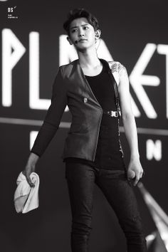 Dear Chanyeol,  don't stand like that.  Sincerely, My fangirling heart.