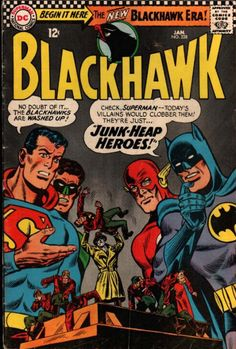 COMIC blackhawk 228 #comic #cover #art