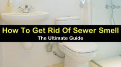 Best ways to get rid of smelling sewer around the house especially in basements and bathroom, from sinks, toilets, and shower drain pipes. Including recipes for various homemade drain and pipe cleaner to unclog and clean smelly drains. Smelly Bathroom Drain, Sewer Smell In Bathroom, Smelly Drain, Toilet Drain, Bathtub Drain, Bathroom Cleaning, Bathroom Sinks, Bathrooms, Sink Drain Smell