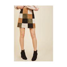 BB Dakota Boho Short Length Mini Not a Square ($80) ❤ liked on Polyvore featuring skirts, mini skirts, a-line skirt, apparel, bottoms, tan, short a line skirt, bohemian skirts, boho skirts and evening skirts