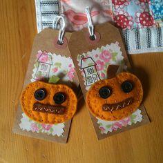 Halloween brooches