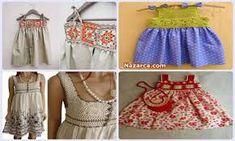 pazen yelek dikimi ile ilgili görsel sonucu Baby Knitting Patterns, The Dress, Apron, Summer Dresses, Fashion, Vestidos, Pattern, Tricot, Moda