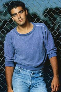 A young George Clooney looks like Ledger from my WIP. Kentucky, George Clooney, Amal Clooney, Stars D'hollywood, Actrices Sexy, Young Celebrities, Handsome Celebrities, Celebs, Fashion Moda