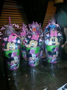 Minnie mouse party favors angies party creations