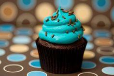 Turquese Cupcake