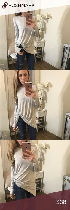 🆕 LUSH Long Sleeve Top 💗 My new fav Top! So comfortable and soft and light weight. Perfect basic top very versatile and extremely flattering!! Lush Tops Tees - Long Sleeve