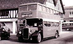 Bedford Double Decker Bus 1950's.