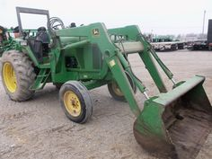 John Deere  6200-640 loader from 20 years ago