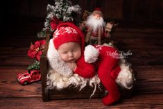 Set with Christmas Pattern Santa Elf Set Santa Claus Outfit Christmas Outfit Newborn Overalls Santa Claus Set Photo Prop Newborn Baby Photos, Baby Boy Photos, Newborn Photo Props, Baby Pictures, Newborn Pictures, Newborn Christmas Pictures, Christmas Photo Props, Babies First Christmas, Christmas Baby