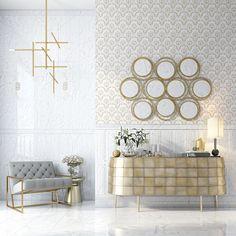 Коллекция «NARNI» Благородный камень – мрамор, по-прежнему не выходит из моды. В элегантной роскоши декоров - сияние золота. Акцент на этом придаст Вашему интерьеру изысканность и утонченность. Gallery Wall, Frame, Home Decor, Picture Frame, A Frame, Interior Design, Frames, Home Interior Design, Home Decoration
