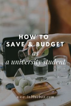 How to save & budget