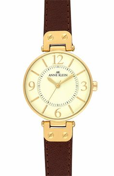 Anne Klein Hinge Case Watch | Nordstrom  This is the equestrian inspired watch i've been looking for!