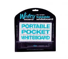 "Pocket Whiteboard - 15.5"" x 27.5"" in. - Whiteyboard.com | WriteyBoard"