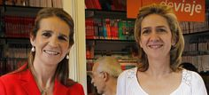 diariofemenino:  Infanta Elena and Infanta Cristina, shown here in 2011, will cease to be members of the Royal Family following their brother Felipe's ascension to the throne and will no longer carry out official engagements, according to a spokesman for the Spanish Royal House.  The members of the Spanish Royal Family will consist of King Felipe, Queen Letizia, Crown Princess Leonor (Princess of Asturias), Princess Sofia, King Juan Carlos and Queen Sofia.