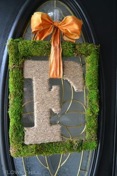98 Best Monogram Wreath Images Monogram Wreath Wreaths Diy Wreath