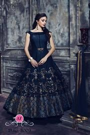 The Blissful Blue ! Grab this new in stylish gown priced @ Only For order Whatsapp/contact no 9904329547 Book ur orders now LikeShareTag someone who look awesome in this gown Patiala Dress, Anarkali Gown, Salwar Kameez, Lehenga Saree, Salwar Suits, Western Dresses, Indian Dresses, Indian Outfits, Designer Gowns