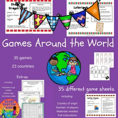 Games From Around The World Cruise Ships Cruises And Plays - Countries of the world game