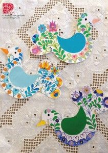 Letölthető ötletek | Piros Hungary Easter Crafts, Folk Art, Decoupage, Kids Rugs, Birds, Home Decor, Type 3, Theater, Facebook