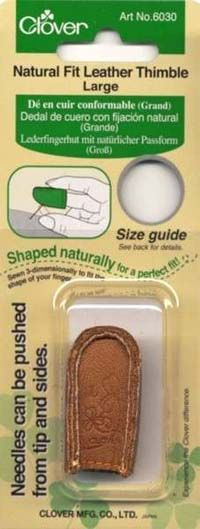 Clover Leather Thimble Large