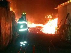 CONEXÃO BOMBEIRO : Bombeiros apagam incêndio em empresa de carvão em ...