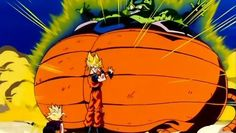 Goku: (Cell is about to explode) Hey, you put up a good fight, Gohan. I'm proud of you. Gohan: What? Daddy? Goku: Take care of your mother for me. She needs you. Tell her that I had to do this, Gohan. Gohan: Huh?! Goku: Goodbye, my son. #SonGokuKakarot