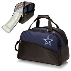 Dallas Cowboys Fully-Insulated Duffel Cooler - Stratus by Picnic Time – Cooler Time