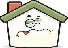 CUANDO LAS CASAS SE ENFERMAN... Es necesario cuidar nuestra casa para evitar que se enferme. El feng shui dice que el lugar donde vivimos es comparable con