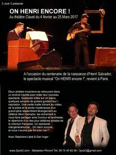 On HENRI encore ! Le spectacle musical en hommage à Henri Salvador revient à Paris en février