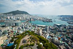 Busan, South Korea. This is from MattBites awesome blog.  Both the food and the photos are amazing.