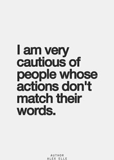 Im very cautious, but sometimes still give people the benefit of the doubt...