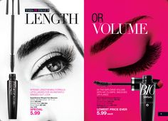 #Avon #mascara breakthrough precision-tapered brush with hundreds of fine filigree bristles captures every lash, drawing them up and out.  Raven black lengthening fibers wrap and lift each individual lash for a long, fluttery multidimensional look. Campaign 15 Brochure: Sale $5.99@http://mnaegele.avonrepresentative.com/shop