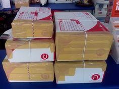จัดส่งโสมเกาหลีให้ลูกค้า ทางไปรษณีย์ค่ะ #โสมเกาหลี #ginseng #ilhwa