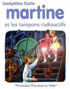 Martine et les tampons radioactifs