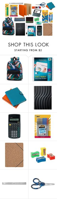 """""""Untitled #56"""" by mnmbfs ❤ liked on Polyvore featuring Vans, Avery, Hermès, Sony, BIC, Nomess and Jack Mason"""
