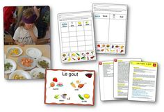The 5 senses in kindergarten: Video games, actions, crafts . Concepts for finishing up a challenge on the 5 senses Busy Bags, Montessori, Kindergarten, About Me Blog, Challenges, Animation, Science, Concept, Voici