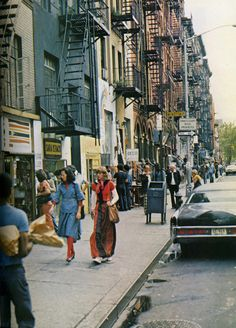 NYC - 1970's streets fashion